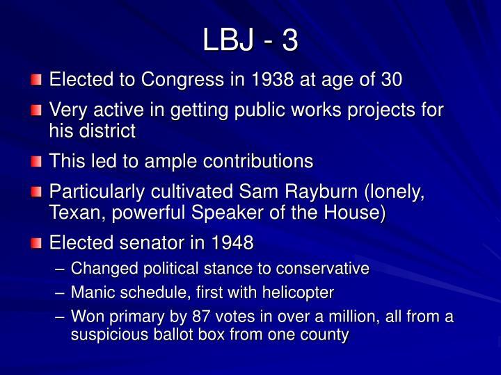 LBJ - 3