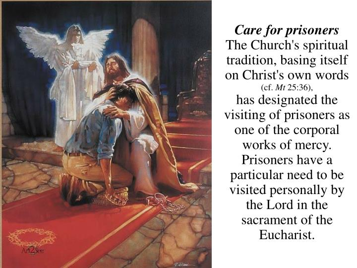 Care for prisoners