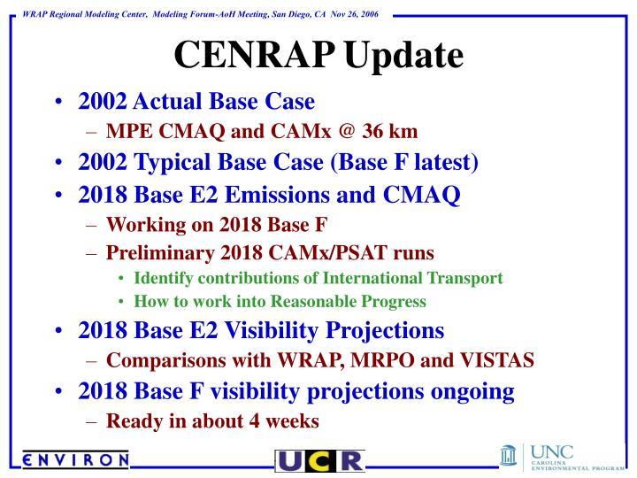 2002 Actual Base Case