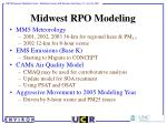 midwest rpo modeling