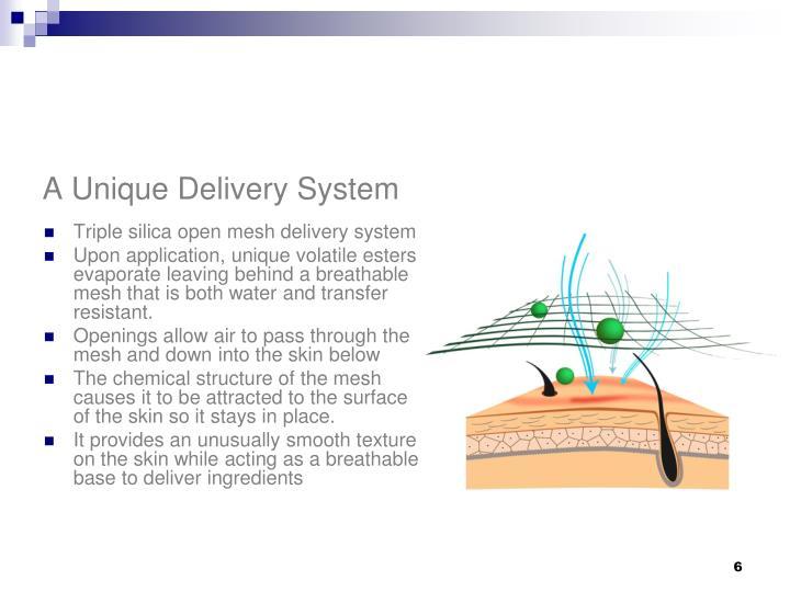 A Unique Delivery System