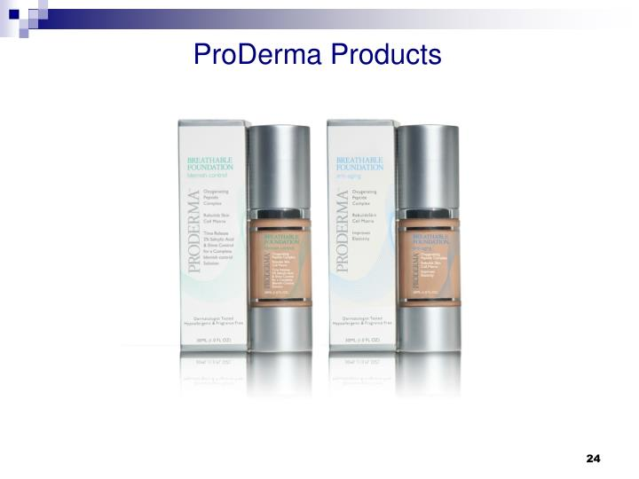 ProDerma Products