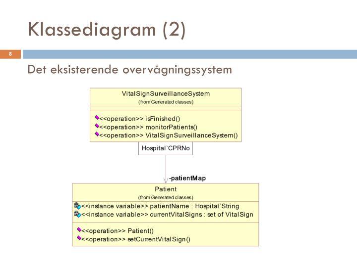 Klassediagram (2)
