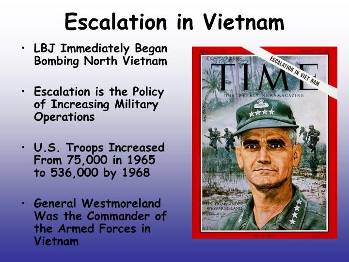 Escalation in Vietnam