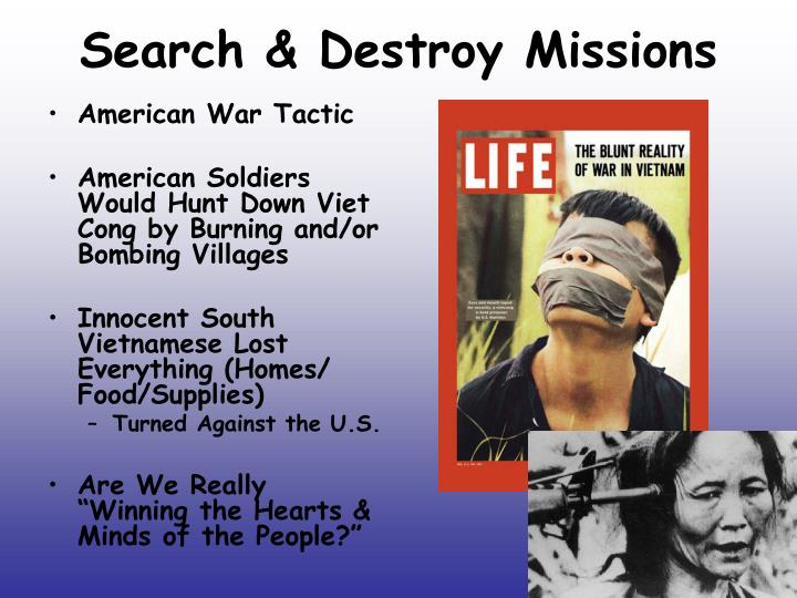 Search & Destroy Missions