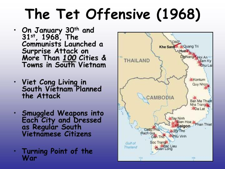 The Tet Offensive (1968)
