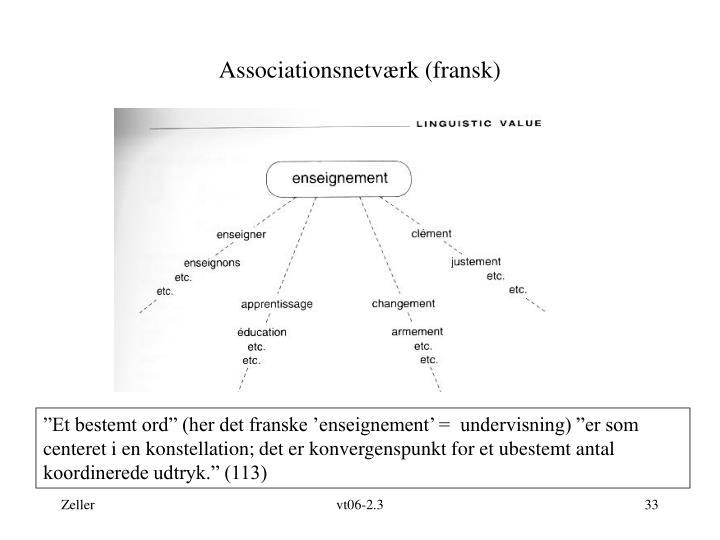 Associationsnetværk (fransk)