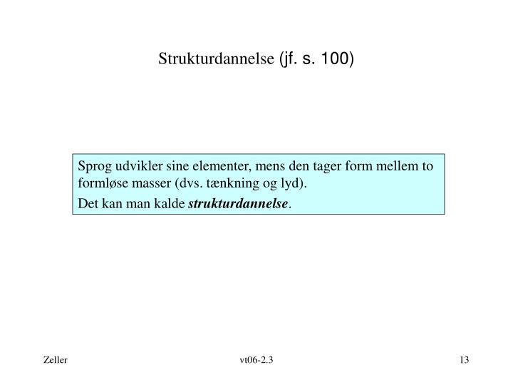 Strukturdannelse