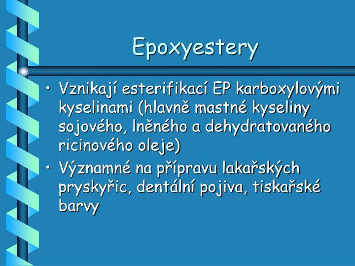 Epoxyestery