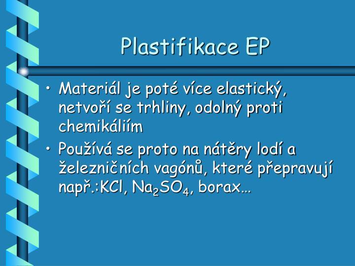 Plastifikace EP