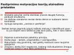pastiprinimo motyvacijos teorij atsiradimo prielaidos1