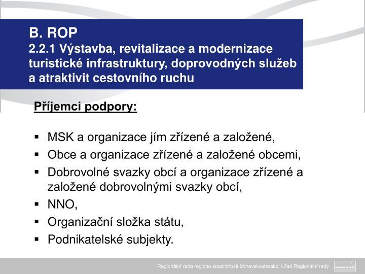 B. ROP