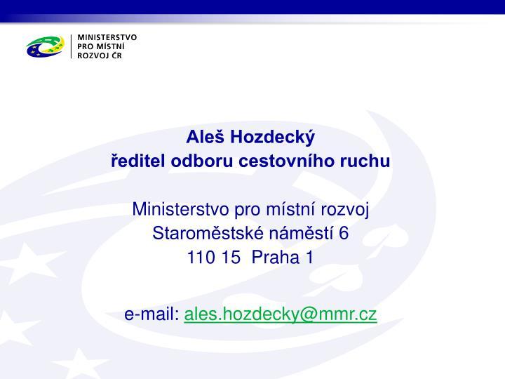Aleš Hozdecký