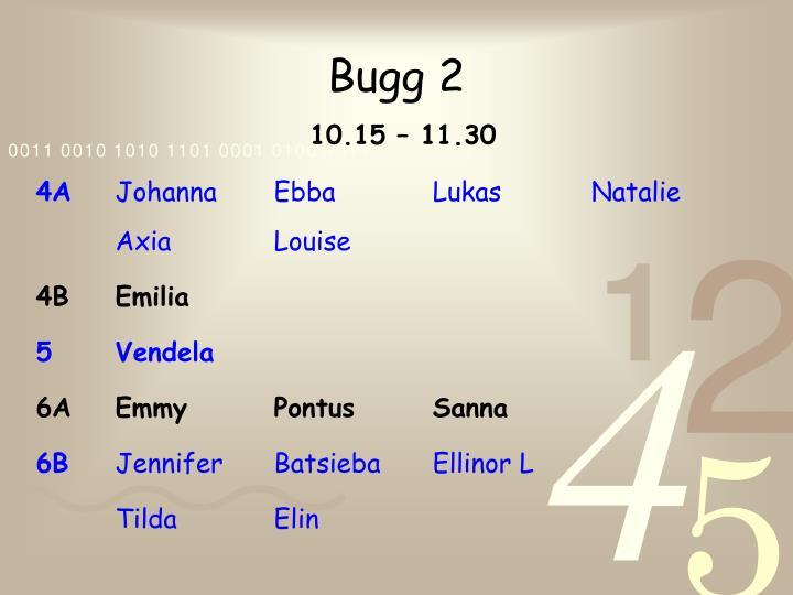 Bugg 2