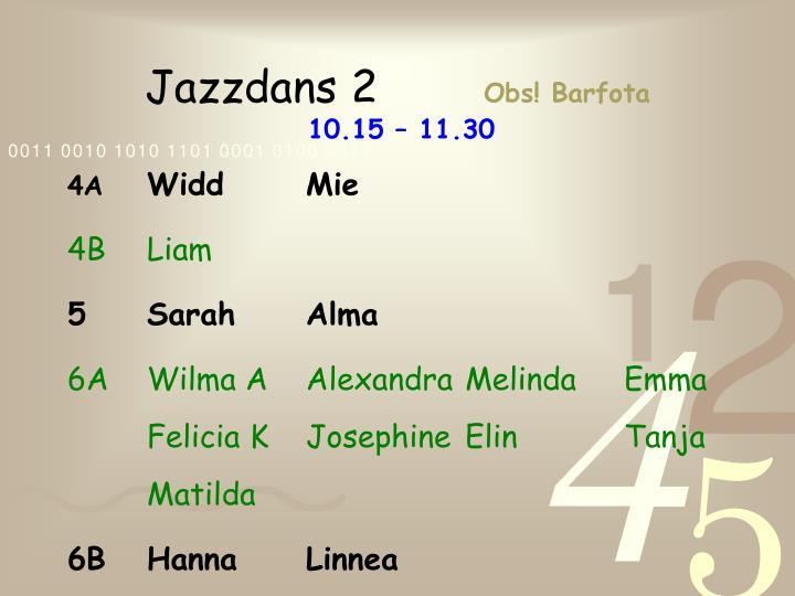 Jazzdans 2
