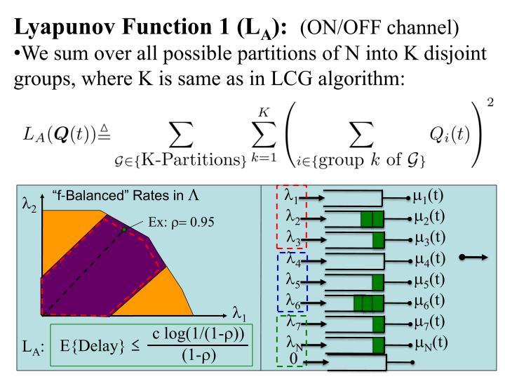 Lyapunov Function 1 (L
