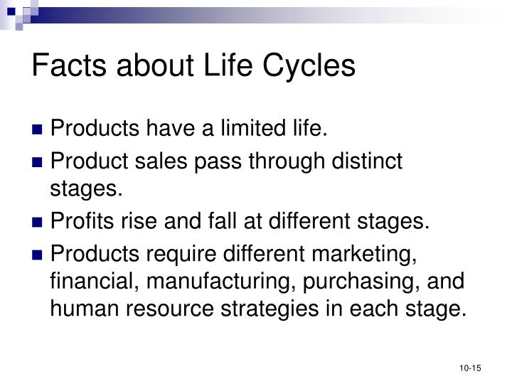 Facts about Life Cycles