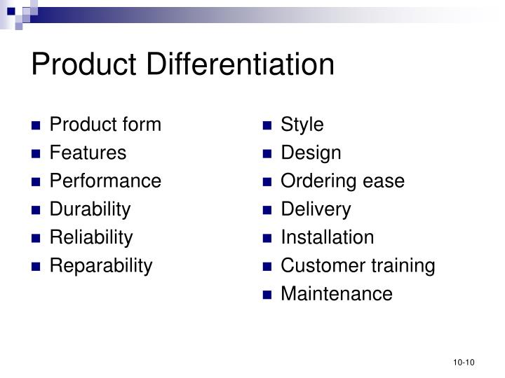 Product form