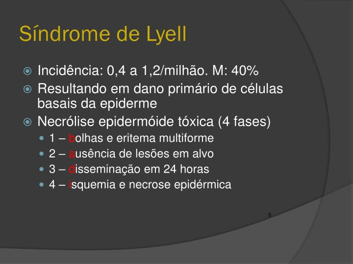 Síndrome de Lyell