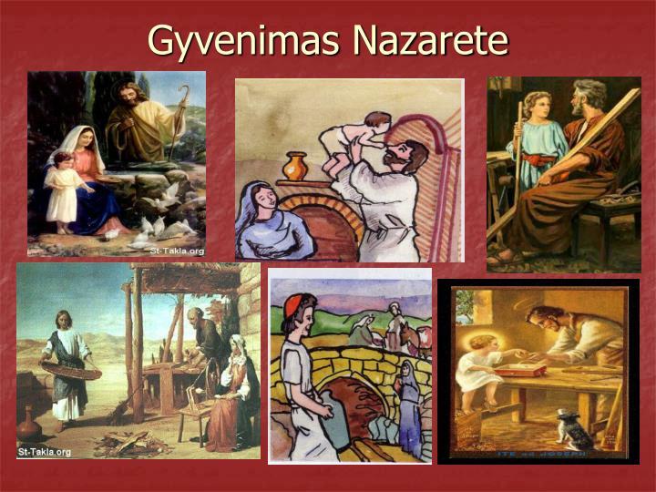 Gyvenimas Nazarete