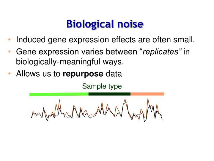 Biological noise