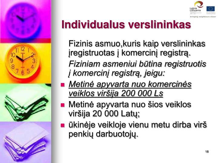 Individualus
