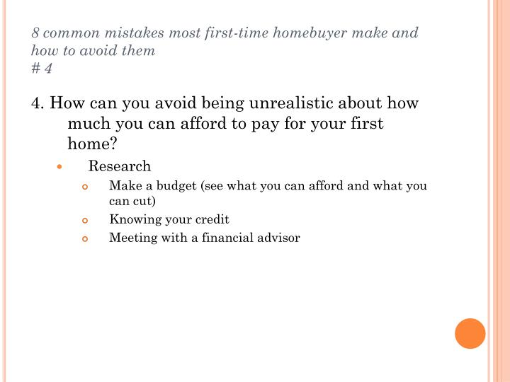 8 common mistakes most first-time homebuyer make and how to avoid them