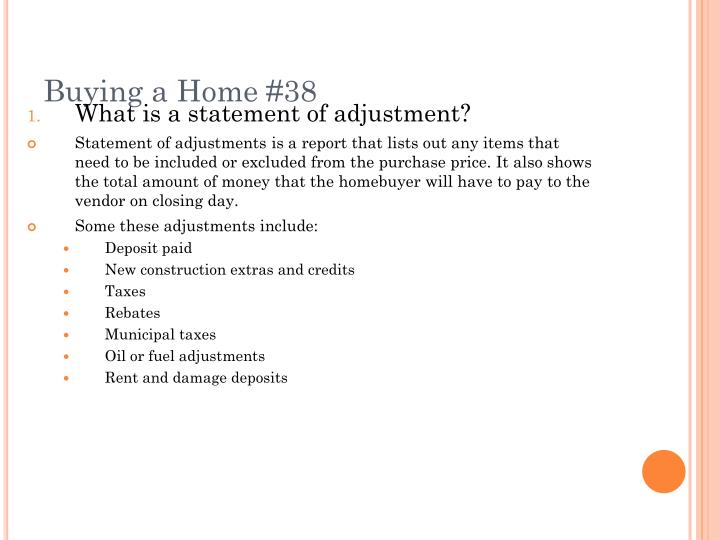 Buying a Home #38