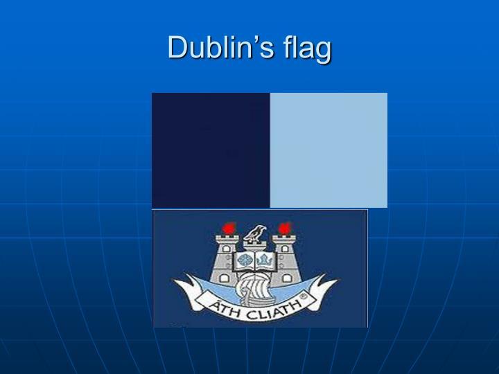 Dublin's flag