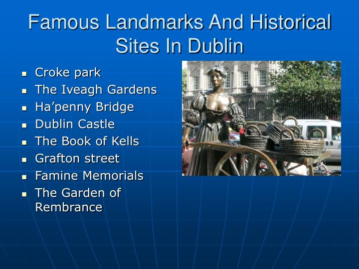 Famous Landmarks And Historical Sites In Dublin