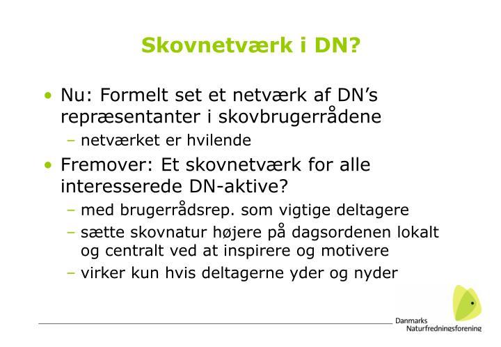 Skovnetværk i DN?