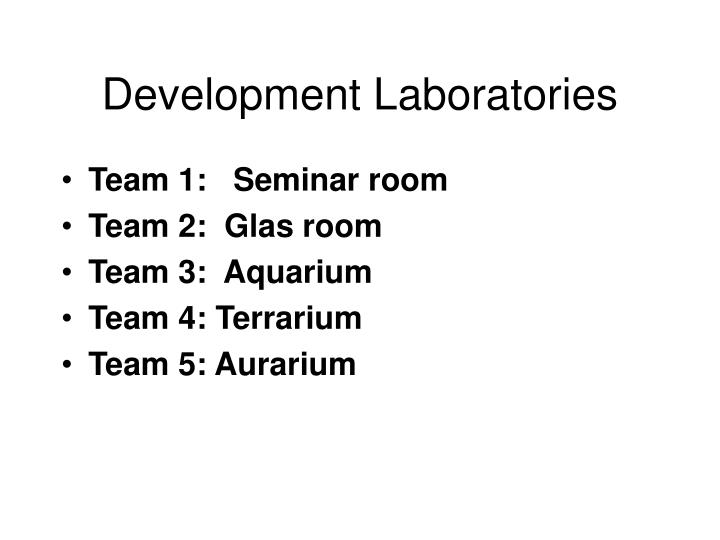 Development Laboratories