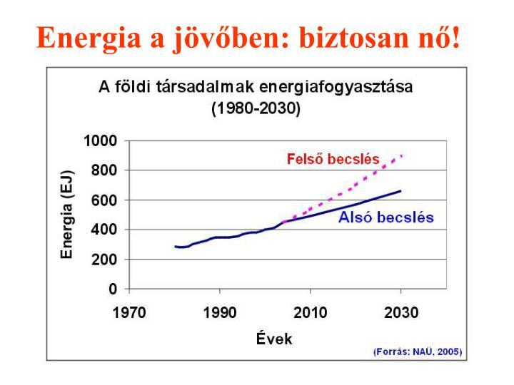 Energia a jövőben: biztosan nő!