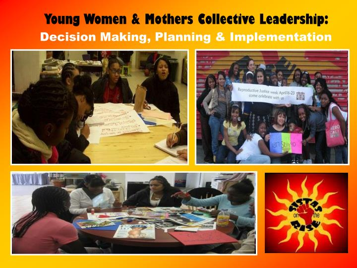 Young Women & Mothers Collective Leadership: