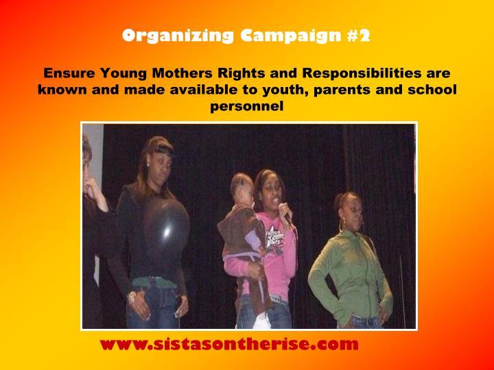 Organizing Campaign #2