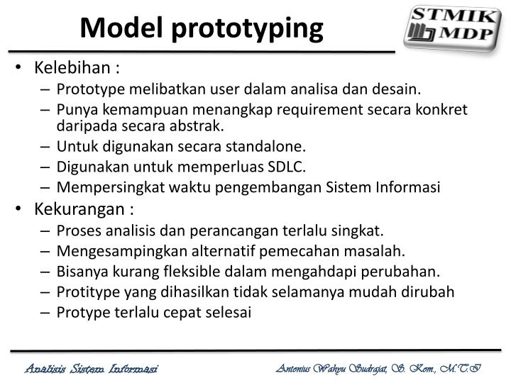 Model prototyping