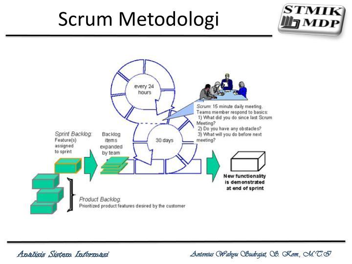 Scrum Metodologi