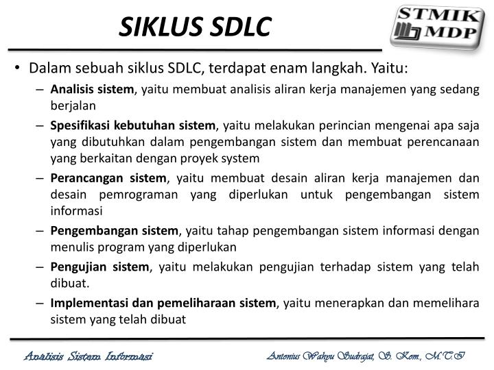 SIKLUS SDLC