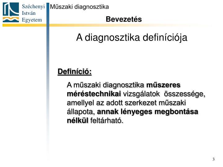 Műszaki diagnosztika