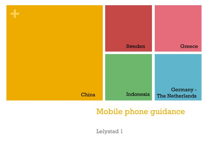 Mobile phone guidance