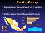 electricity coverage