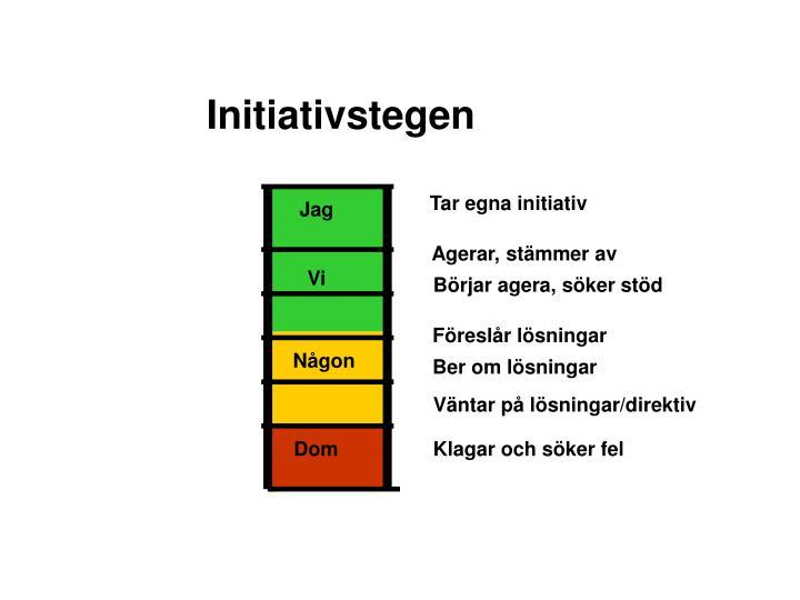 Initiativstegen