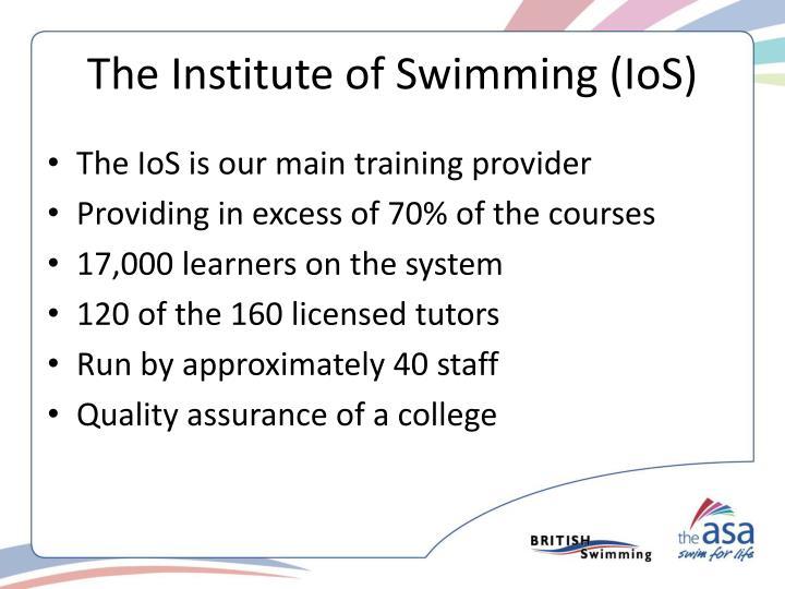 The Institute of Swimming (IoS)
