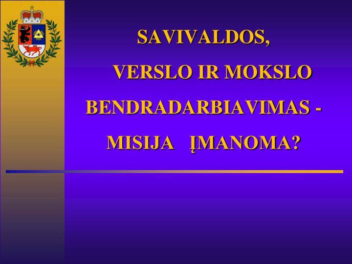 SAVIVALDOS,