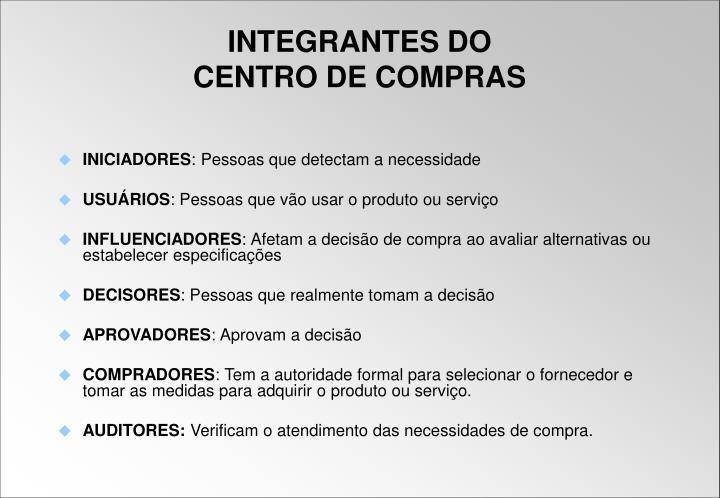 INICIADORES