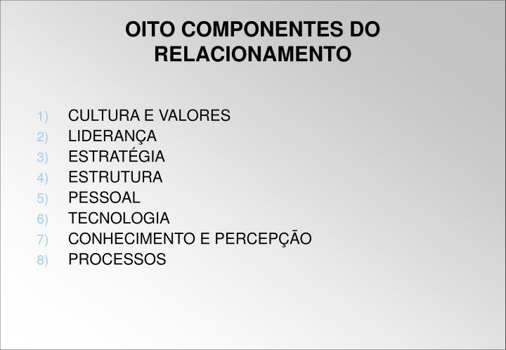 CULTURA E VALORES
