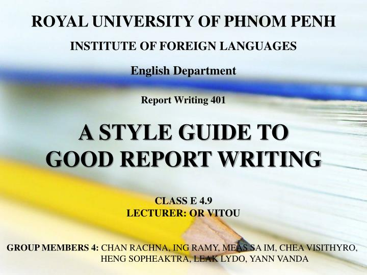 ROYAL UNIVERSITY OF PHNOM PENH