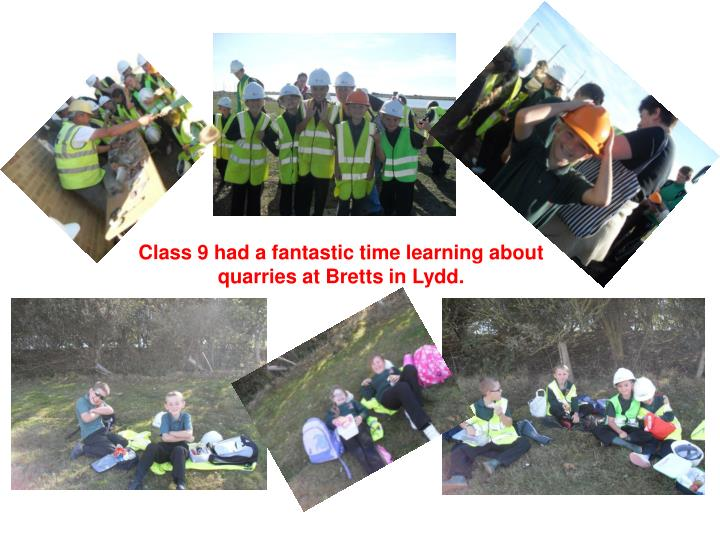 Class 9 had a fantastic time learning about