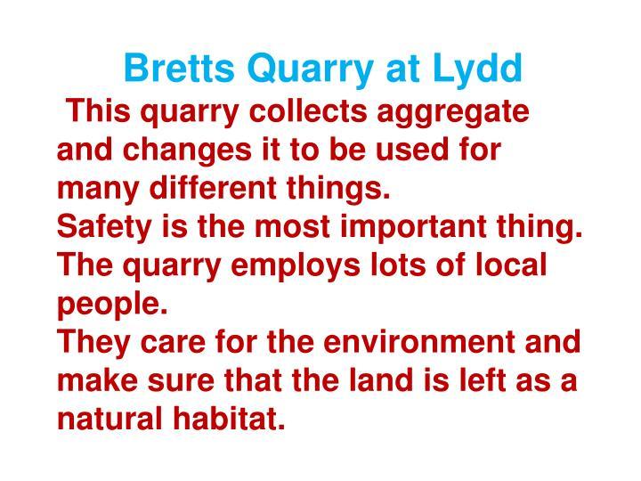 Bretts Quarry at Lydd