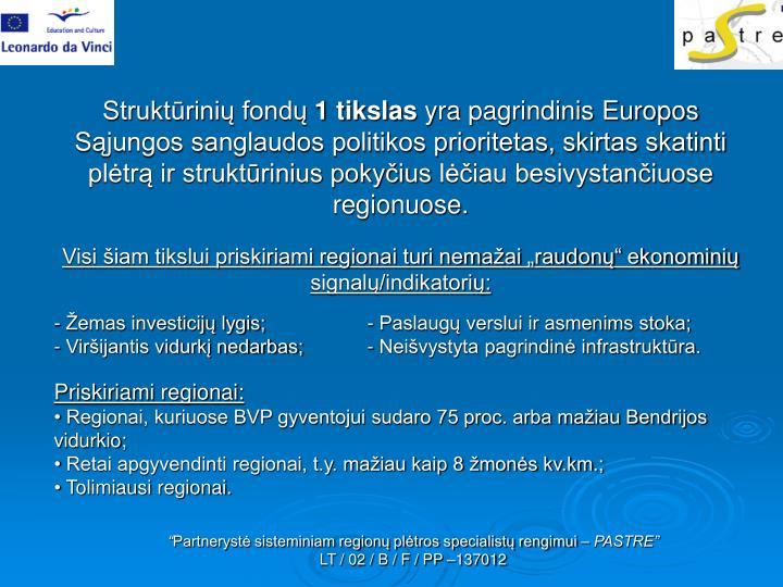 Struktūrinių fondų